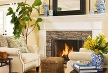Home // Living Spaces / Family Rooms / by Jessica Brown
