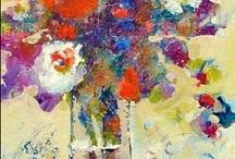 ART. Fine Art. Still Life/Florals. Nancy Standlee / by Nancy Standlee