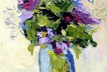 ART. Fine Art. Palette Knife Paintings. Nancy Standlee / by Nancy Standlee