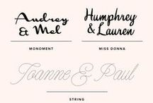 Fonts / by Jessica Brown