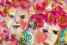 Art. Fine Art. Figurative Abstract / by Nancy Standlee