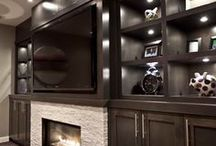 Home // Home Theaters & Home Bars / by Jessica Brown