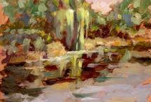 Plein Air landscape paintings by Dave Froude