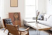 Living and Sitting / living rooms, offices, wall decor, and sitting areas