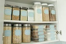 Organized Pantry / Save money and time with an organized pantry in your home.  Follow this board for tips and great posts on organizing your pantry.