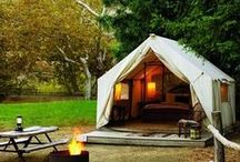 Guide to Glamping / Glamping 101 for anyone who wants a little dose of luxury with their adventures!
