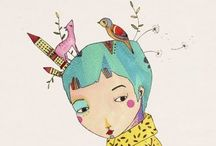 Lovely illustrations / by Audrey Heikoop-van den Hurk