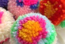 Lovely pompoms & honeycombs / by Audrey Heikoop-van den Hurk