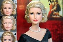Dolls: Celebrity/Historical/Fantasy Repaints / by Mary Kone
