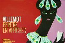 oh hello mr villemot / posters and advertising by the famous frenchman bernard villemot