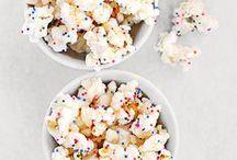 Popcorn & Chex Mix / popcorn & chex mix recipes / by Jaimie McCaffrey