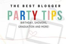 Bloggers Best Party Ideas, Tips  and Planning / These Bloggers Have Found the Best Party Ideas, Tips and Planning.  Wedding Shower, Baby Showers, Birthday Parties and Anniversary Celebration.  Let the Celebrations Be Pinned!   Email pamela@mommacan.com  if you would are an event blogger or love hosting fun parties for your kids and would like to share our ideas!
