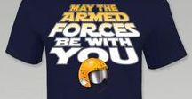 May The 4th Be With You / Exclusive May the Armed Forces be with you designs you'll only find at Armed Forces Gear!
