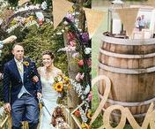 Rustic/DIY Wedding Style / Rustic weddings are all about lovingly-made décor, beautifully-lit barns and amazing live music. From Mumford-style bands and acoustic wedding guitarists, to a good old Ceilidh, our collection of artists will take you from unplugged 'I dos' to a mega-hoedown 'til dawn!
