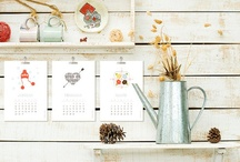 CALENDARS / by Heather Kneisler (A Sweet Simple Life)