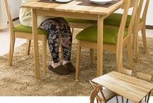dining ダイニング / 特徴のあるデザインや、機能が加わったダイニングセットです。 http://www.momu-shop.jp/dining/ / by Original design momu K.Isagawa