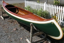 Wooden Canoes & Rowboats