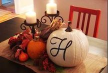 Fall Ideas / by Courtney Chambers