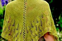 Knitting--Shawls and Scarves / by Katie-Lyn Bunney