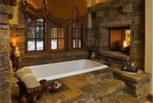 Gorgeous Bathrooms/Great Ideas / by Linda Lambert