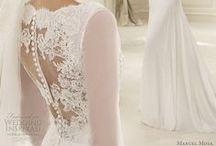 stunning back wedding dresses