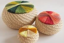 basketry.weaving.knitting / all kinds of tressed stuff