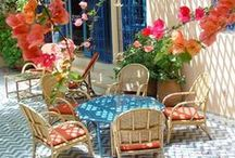 Mediterranean Inspired Decor / This board was created for inspiration for entrants of the Cunard Mediterranean Blogger Competition. http://www.theswellelife.com/swelle_life/2014/06/cunard-mediterranean-competition-win-1000-worth-of-john-lewis-vouchers.html
