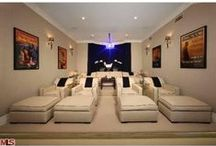 Spaces - Home Theaters / Amazing home theater photos and ideas from Realtor.com / by realtor.com
