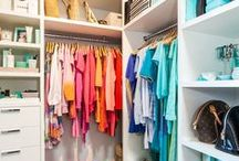 Closets / Dream closet inspiration! From walk-in-closets to organization tips, everything you need to take your closet from blah to ta-da!