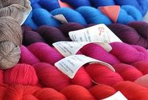 Adorable and Luxury Yarn / Luxury, Multicolor, Hand Dyed and Fabulous Yarns