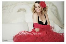 Red Petticoat / Red Petticoats in all size and lengths. In stock ready to ship.  http://www.pettiskirtstyle.com