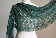 **Lace Shawls** / Lace Shawls Crocheted and Knitted