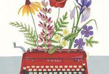 Writing / Máquinas de escribir