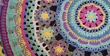 Mandalas Crochet / Mandalas ideas, patterns inspiration