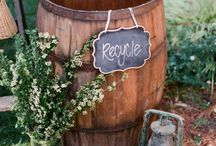 Green Weddings - Eco Friendly Wedding Ideas / The earth does not belong to man. Man belongs to the earth