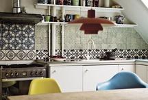 Kitchen / by Sara Woolsey / the saradactyl