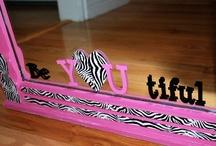 Kadee's Room / Zebra Stripes galore!!!