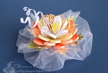 quilled flowers / by Terrie Mays