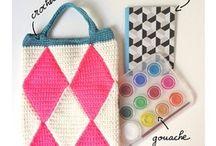 Crochet bag / by Isabelle Kessedjian