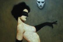 paintings& + / by Marta NavalGar