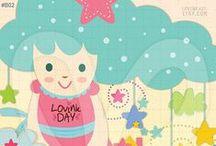 Lovink Day Clip Arts / Clip art collection, digital creation & freebies Design by Lovink Day