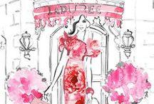 Illustration Art for Fashion