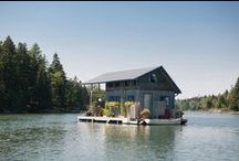 Fabulous Floating Homes / Love the lake? Then why not live on it!