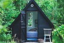 Spectacular Shed-Aways / These backyard oases are beautiful, comfortable, and private—perfect for relaxing or crafting.