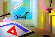 80's Interior Design and Architecture by Neon Talk / Instagram: @neontalk