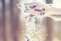 The Glitter in my day  / These things make me happy <3 / by Stay Sea