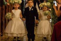 Daminhas e pajens / As melhores participações de daminhas e pajens em casamentos!