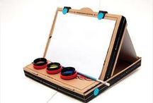 Pizza Box Projects / Get crafty when that pizza box is empty!