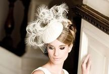Bridal Accessories / Bridal hats, headpieces, veils and cocktail hats.