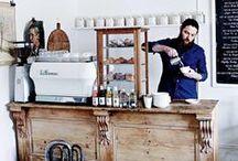 Café, Bistro, Bar im Landhausstil / Hausbar, Minibar, Landhausbar, Barhocker, Barstühle, Tresen, Theken, Pub, Bäkerei, Coffee Shop, Restaurant, Cafe, Bistro, Gastronomie, Vintage Style
